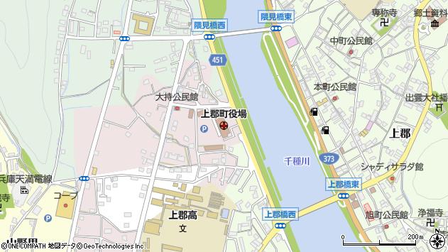 〒678-1200 兵庫県赤穂郡上郡町(以下に掲載がない場合)の地図