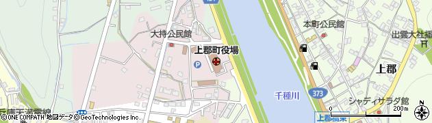 兵庫県上郡町(赤穂郡)周辺の地図