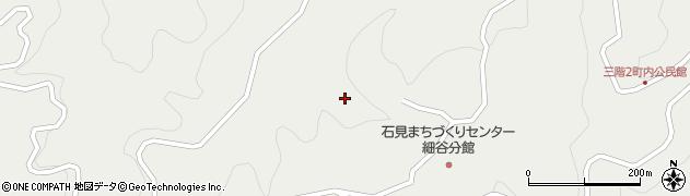 島根県浜田市三階町(野地)周辺の地図