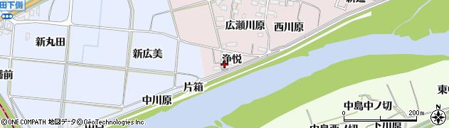 愛知県新城市豊島(浄悦)周辺の地図