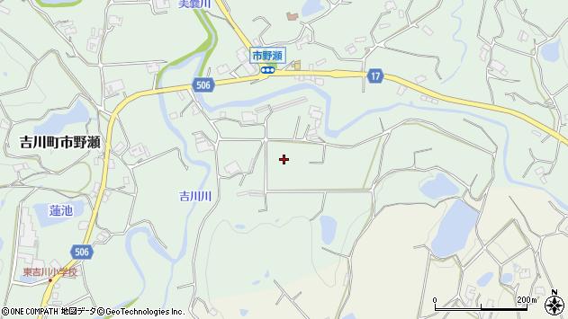 〒673-1235 兵庫県三木市吉川町市野瀬の地図