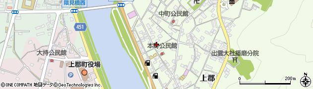 上郡本町郵便局 ATM周辺の地図