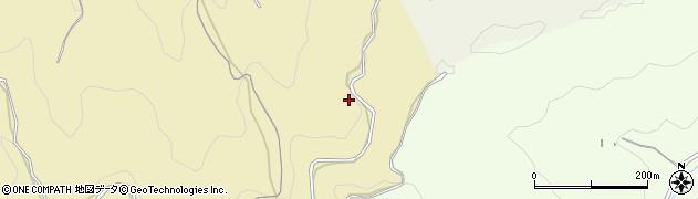 愛知県岡崎市桑谷町(木落)周辺の地図