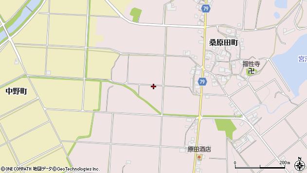 〒675-2111 兵庫県加西市桑原田町の地図