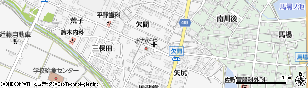 サクラ ヤ周辺の地図