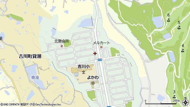 〒673-1117 兵庫県三木市吉川町みなぎ台の地図