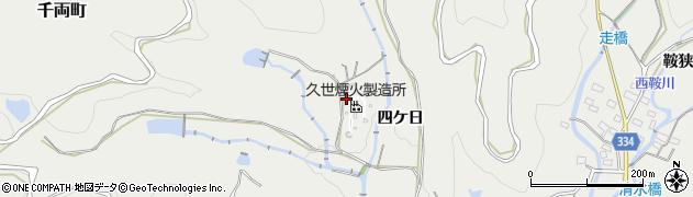 愛知県豊川市千両町(財賀口)周辺の地図