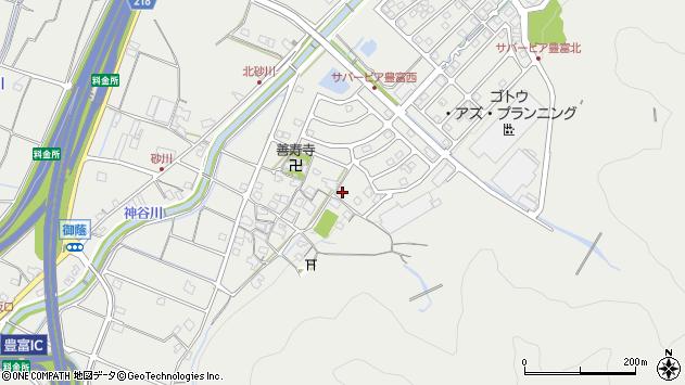 〒679-2122 兵庫県姫路市豊富町御蔭の地図