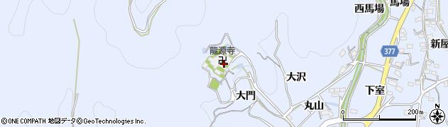 愛知県豊川市萩町(大門)周辺の地図
