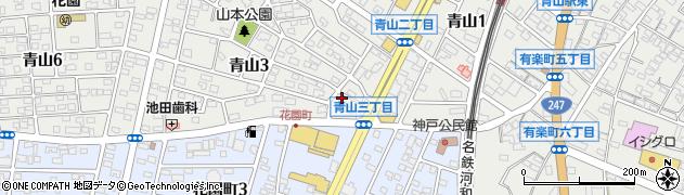 ロダン青山店周辺の地図