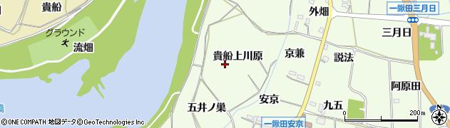 愛知県新城市一鍬田(貴船上川原)周辺の地図
