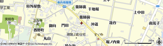丸き鮮魚周辺の地図