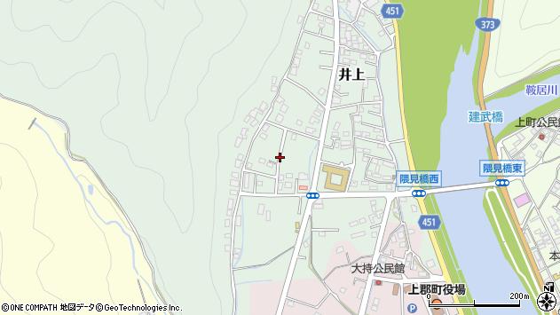 〒678-1251 兵庫県赤穂郡上郡町井上の地図