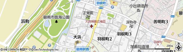 うお鉄本店 予約受付周辺の地図