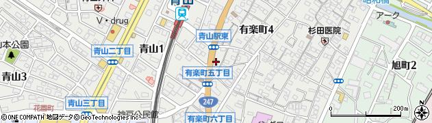 K&J周辺の地図