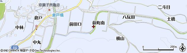 愛知県豊川市萩町(南)周辺の地図