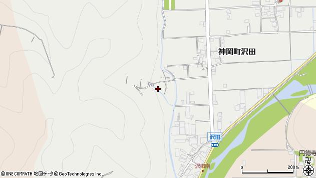 〒679-4116 兵庫県たつの市神岡町沢田の地図