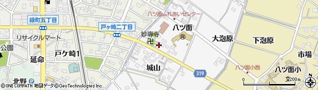 愛知県西尾市戸ケ崎町(豊美)周辺の地図