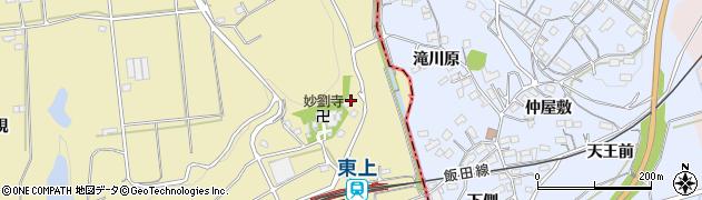 吉野館周辺の地図