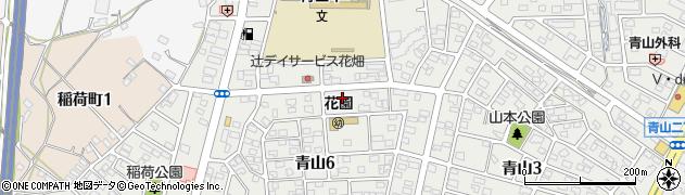 海香館 半田店周辺の地図