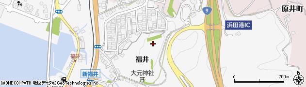 島根県浜田市熱田町(福井)周辺の地図