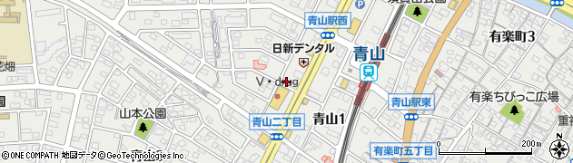MARIA周辺の地図