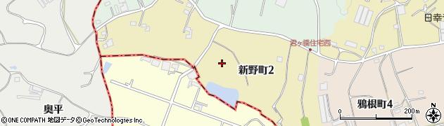 愛知県半田市新野町周辺の地図