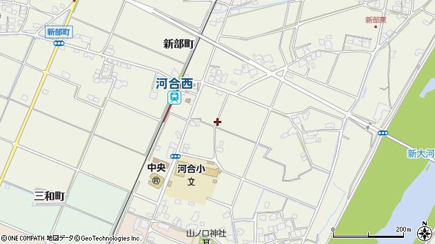 〒675-1355 兵庫県小野市新部町の地図