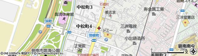 愛知県碧南市石橋町4丁目周辺の地図