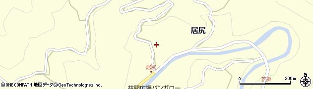 静岡県掛川市居尻周辺の地図