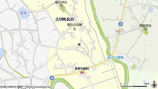 〒673-1127 兵庫県三木市吉川町長谷の地図
