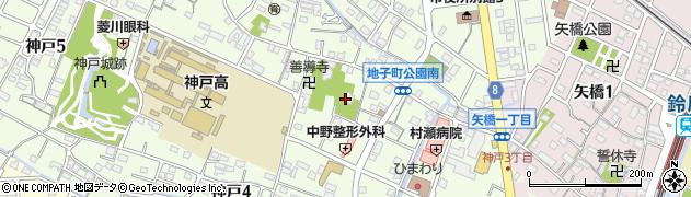善昌寺周辺の地図
