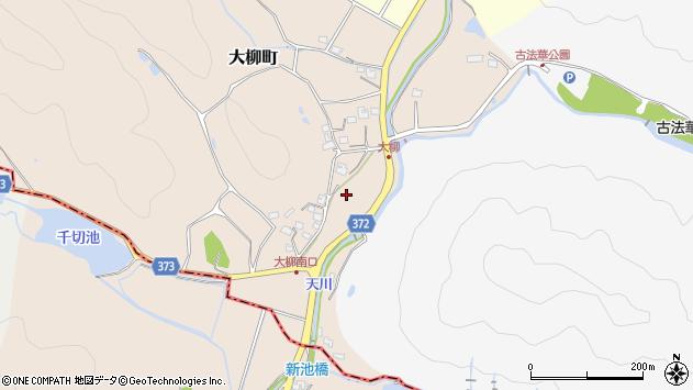 〒675-2344 兵庫県加西市大柳町の地図
