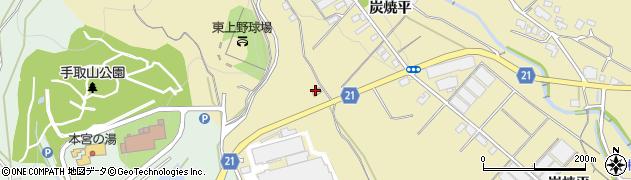 愛知県豊川市東上町(土橋)周辺の地図