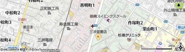 ジジ周辺の地図