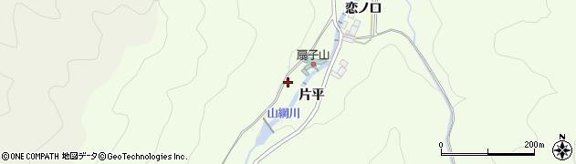愛知県岡崎市山綱町(西坂尻)周辺の地図