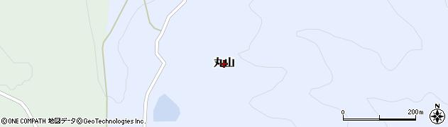 岡山県和気町(和気郡)丸山周辺の地図
