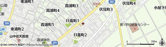 歩周辺の地図