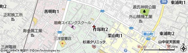 成錦堂周辺の地図