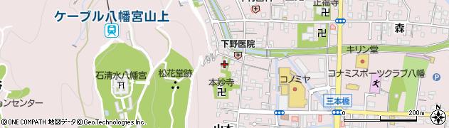 泰勝寺周辺の地図