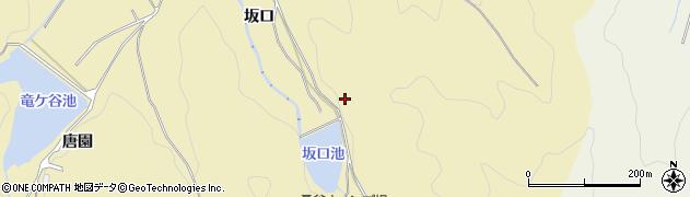 愛知県岡崎市桑谷町(坂ノ入)周辺の地図