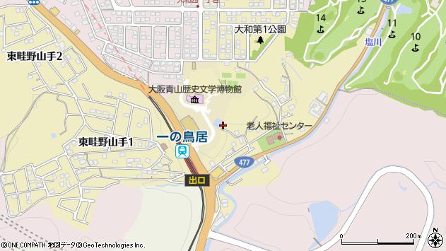 〒666-0113 兵庫県川西市長尾町の地図