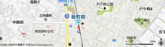 秀乃屋周辺の地図