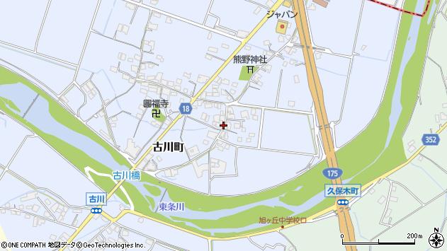 〒675-1363 兵庫県小野市古川町の地図