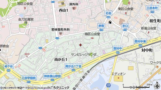 〒669-1535 兵庫県三田市南が丘の地図