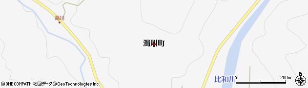 広島県庄原市濁川町周辺の地図