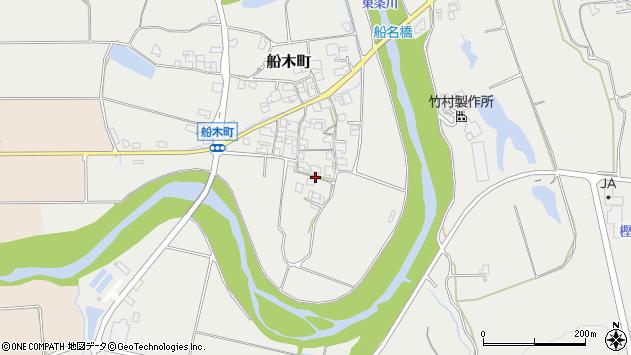 〒675-1306 兵庫県小野市船木町の地図