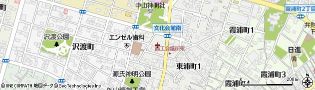 愛知県碧南市源氏神明町周辺の地図