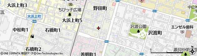 維斗葉周辺の地図