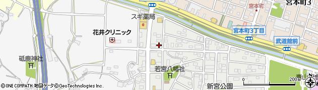 一心屋青山支店周辺の地図